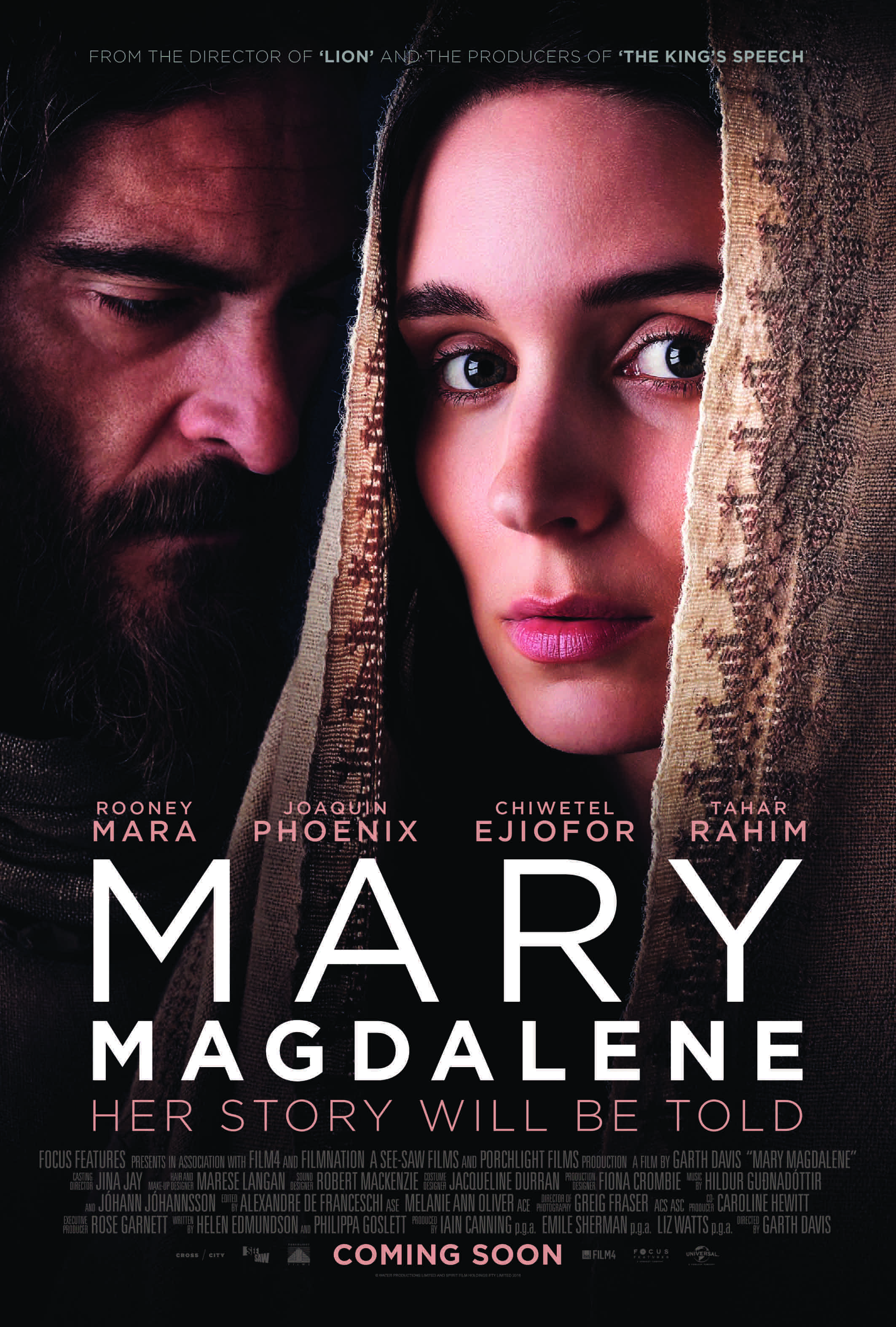 Event: Free Members' Exclusive Preview Screening of Mary Magdalene