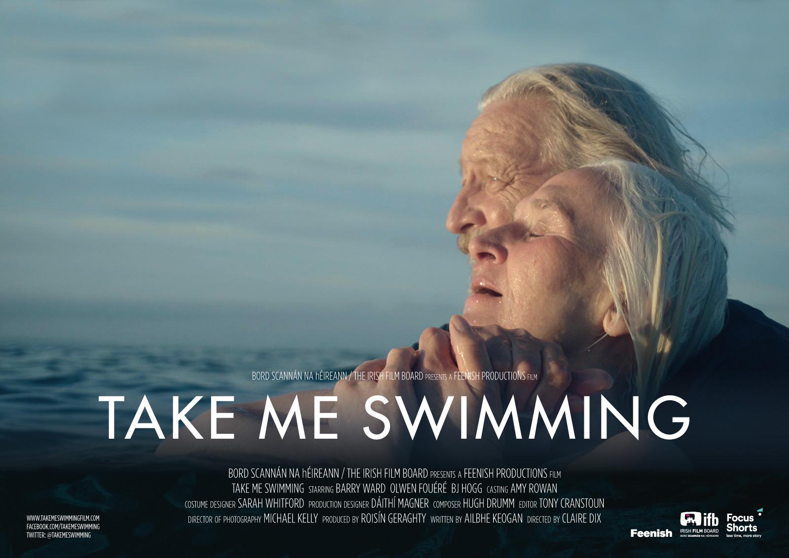 Take me swimming poster